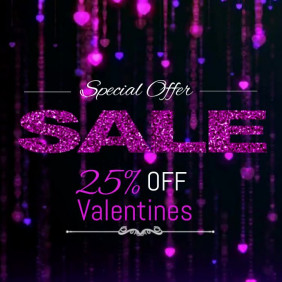 Valentines video templates,event video template