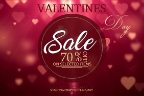 Valentines video templates,event video templates