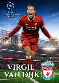 Van Dijk Liverpool FC
