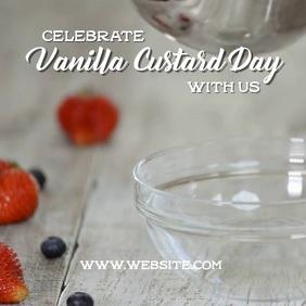 Vanilla Custard day