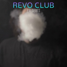 Vape Night Video Template