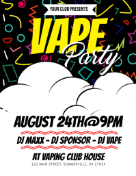 Vape Party Flyer