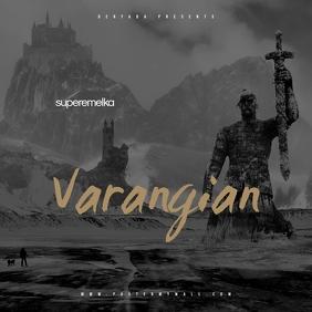 Varangian Metal Viking CD Cover Music
