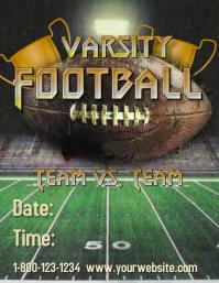 Varsity Football Template