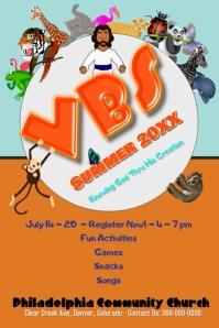 VBS/Escuela biblica/Church/Summer Camp