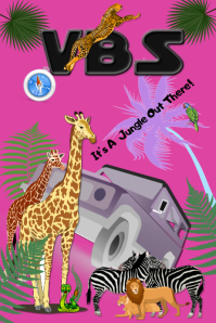 VBS/escuela biblica verano/church/zoo/safari