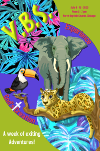 VBS/summer camp/zoo/escuela biblica