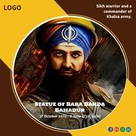 Veer Banda Singh Bahadur Publicação no Instagram template
