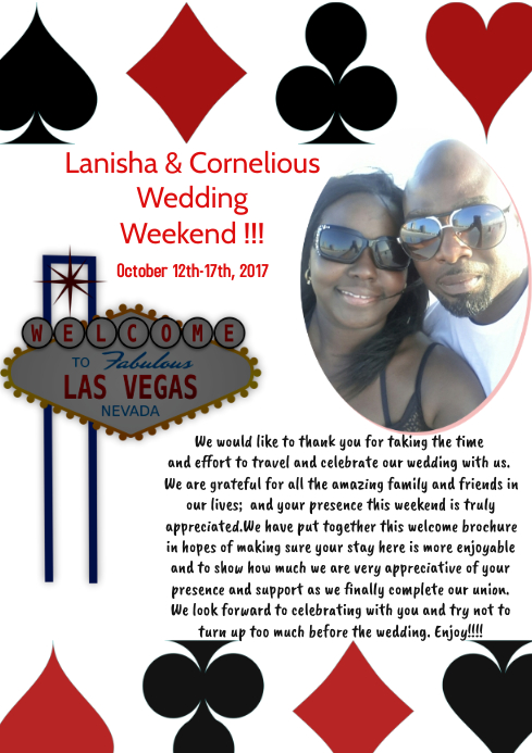 Vegas Itinerary Cover