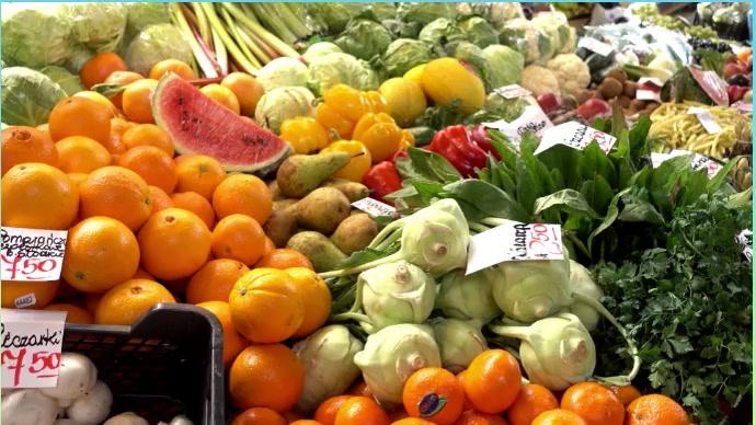 Vegetable market Foto di copertina del canale YouTube template