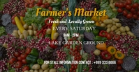 vegetables farmers market facebook ad template