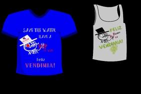 Vendimia Wine Drinking Tshirts
