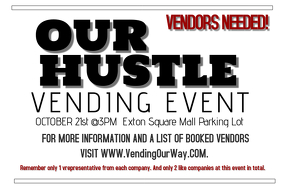 Vending Event Flyer