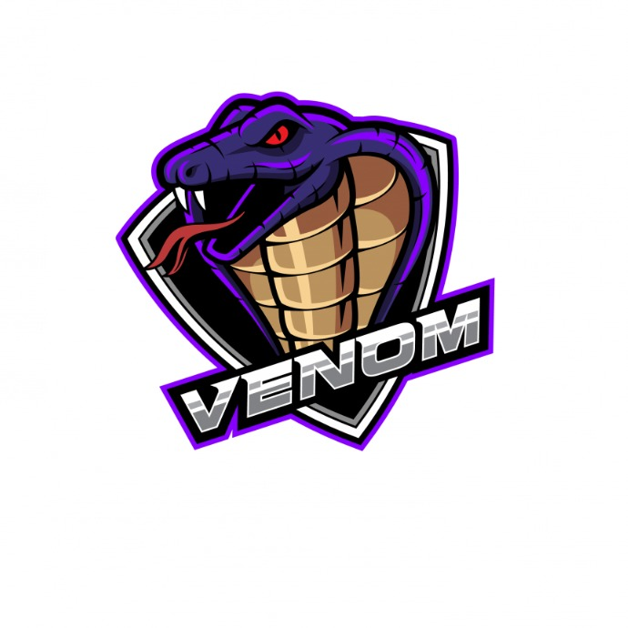 venom logos template