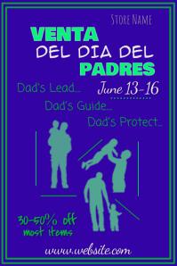 Venta del dia del Padre Poster