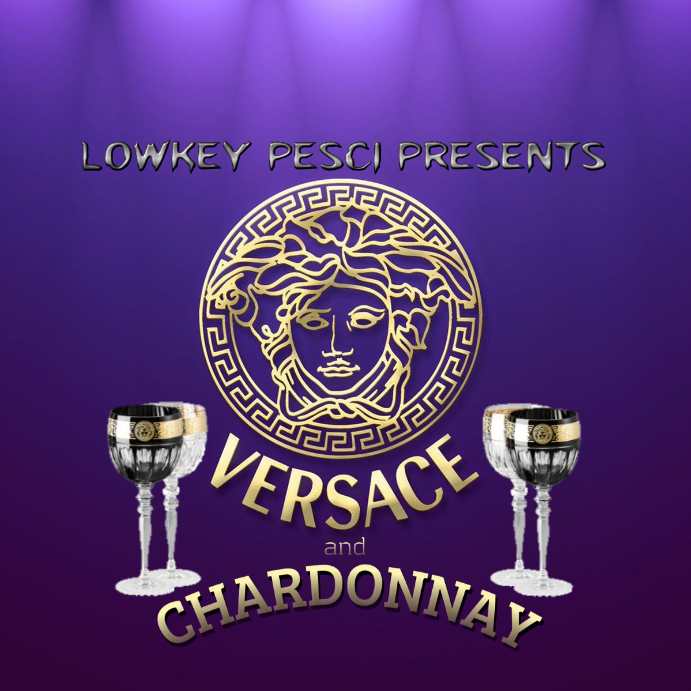 Versace and charsonnay