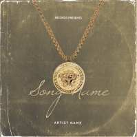 Versace mixtape cover art design template