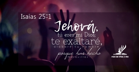 verso biblico Facebook Shared Image template
