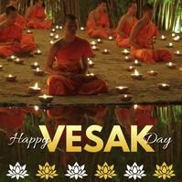 vesak day,vesak day celebration Instagram-bericht template