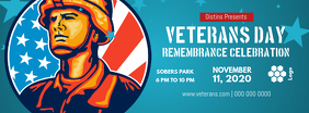 Veteran's Day Celebration Facebook Cover Photo Facebook-coverfoto template