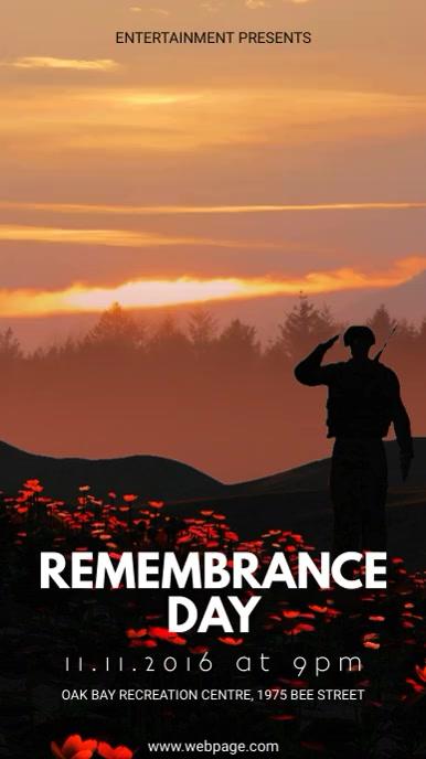 Veteran's Day Event Digital Display Video Template