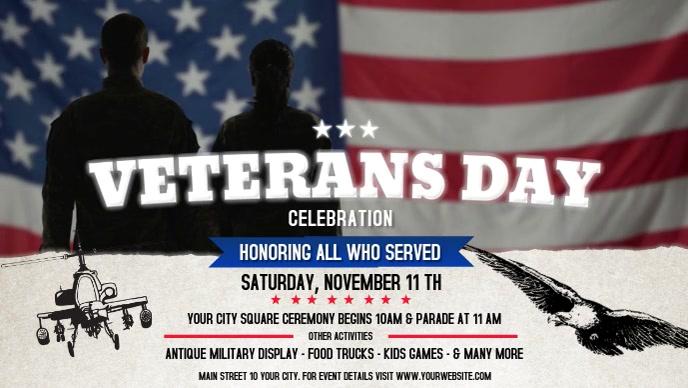 Veteran's Day Facebook Cover Video
