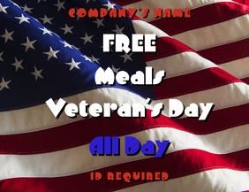 Veteran's day Template