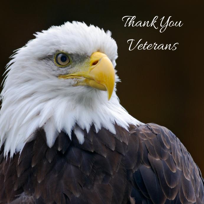 Veterans Day Instagram-opslag template