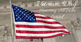 Veterans Day Image partagée Facebook template