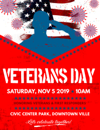 Veteran Day Flyer