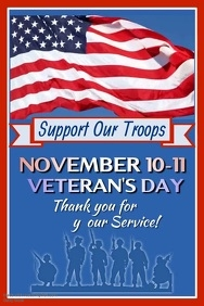 Veteran's Day Video Poster