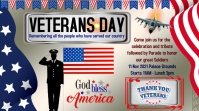 veterans day, veterans day 2021 Digitalt display (16:9) template