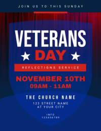 Veterans Day Church Reflections Service