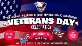 Veterans Day Facebook Cover Video