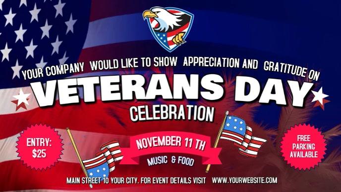 Veterans Day Facebook Cover Video