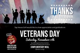 Veterans Day Landscape Poster