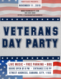 Veterans Day Party Event