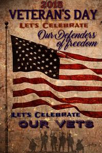 Veterans Day Poster 2018