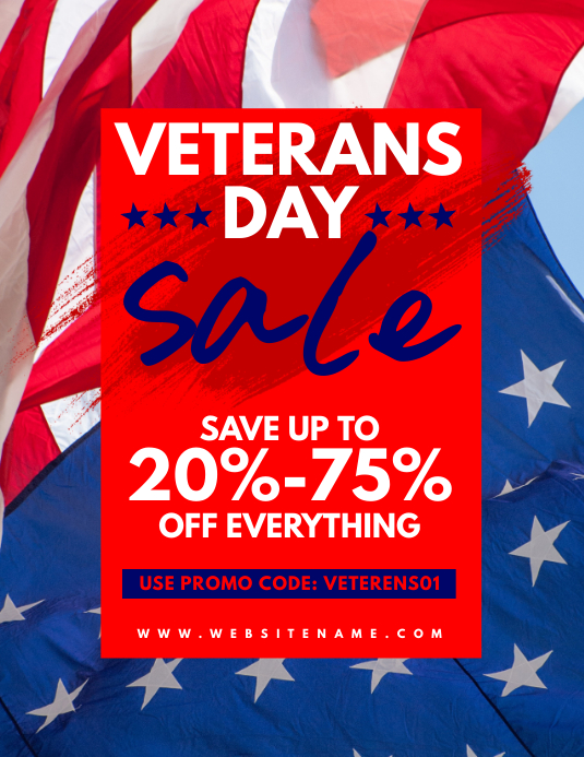 veteran s day poster templates postermywall