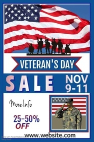 Veterans Day Sale Video