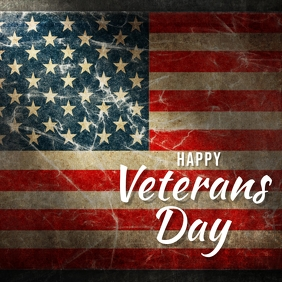 veterans Instagram Plasing template