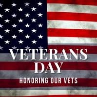 veterans Instagram na Post template