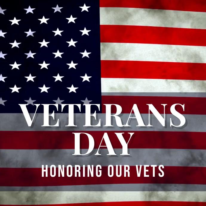 veterans Instagram Post template