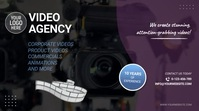 Video Agency Video Ad 数字显示屏 (16:9) template