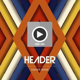Video Album Cover Template