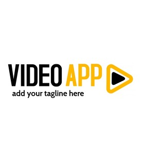 video app icon logo