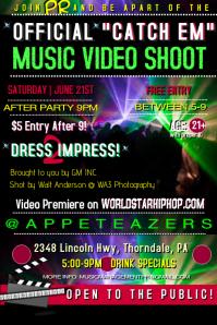 Video Bar Flyer