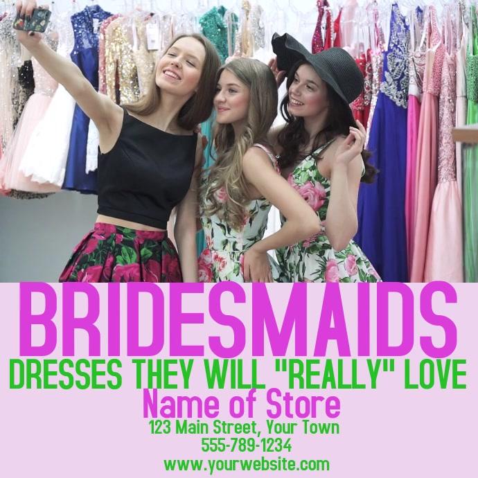 Video Bridesmaids Advertisement