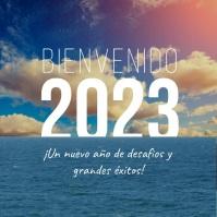 Video de feliz año nuevo Bienvenido 2020