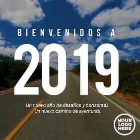 Video de feliz año nuevo